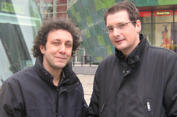 Christophe Muller et Frédéric Marquet (photo MJYC)