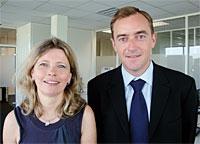 Danièle Guérin et Christophe Catoir