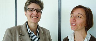 Catherine Ledig (ADEC) et Patricia Esnault (Sigma Consulting)