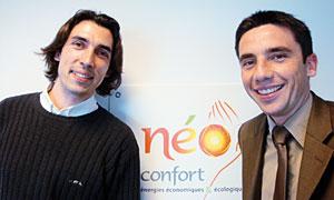 Benoît Penning-Reef (Responsable Qualité) et Eric Gelebart (Directeur)