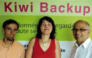 Sébastien Heitzmann (2LE.net), Carole Marchal, Serge Heitzmann
