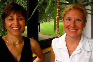 Brigitte Morgulis, secrétaire générale, et Véronique Nardi, chargée de communication du PVF.
