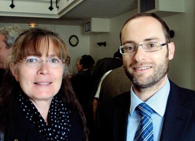 Carole Hungler et Nicolas Gwinner