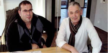 Christophe Trautmann et Thierry Wiest