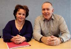Dominique Marchand et Pierre Hertel