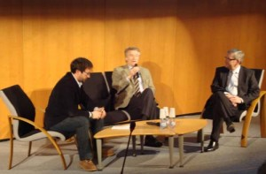 M. André Reichardt, Président du Conseil Régional d' Alsace, et Mr Jean-Marie SCHWAB, Directeur Général de SALM (Cuisines SCHMITT)