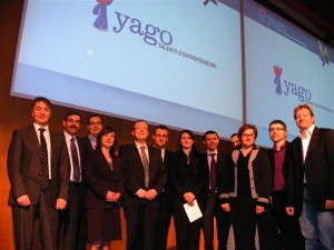 Les lauréats et les parrains du concours Yago. Photo P. B.
