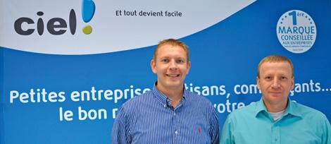 Christian Haas et Jean-Marc Blanckaert.