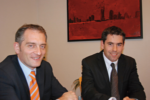 Emmanuel Ebel et David Roca