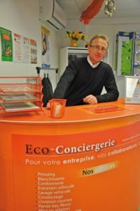 le journal économique mulhousien - le périscope : Marc Leleyter, Eco-conciergerie