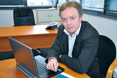 le journal économique mulhousien - le périscope : Open, Laurent Witt