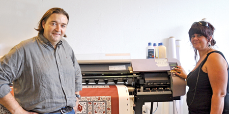 Le périscope, journal économique de Mulhouse et environs : Alsatextiles