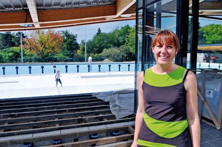journal économique de Mulhouse et environs : Nouveau Centre d'entraînement et de formation à la natation de haut niveau Une réalisation m2A