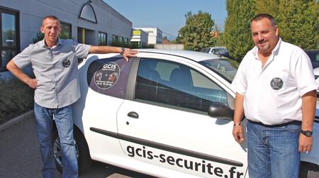 Le périscope, journal économique de Mulhouse et environs - société GCIS - Romuald Alem et André Cazoratti