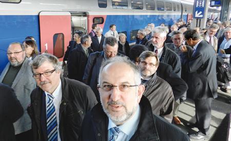 Le périscope, journal économique de Mulhouse et environs : TGV