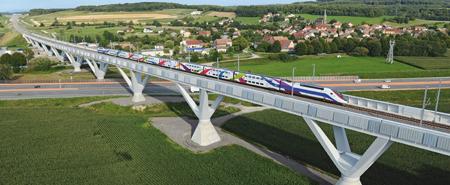 Le périscope, journal économique de Mulhouse et environs : Sondage exclusif TGV Rhin-Rhône