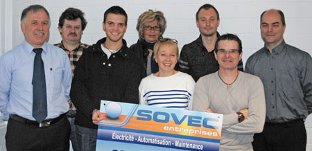 Le périscope, journal économique de Mulhouse et environs : SOVEC