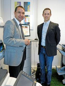 Le périscope, journal économique de Mulhouse et environs : Dyctal et ABC Réseau