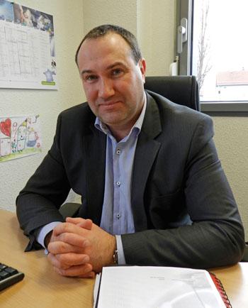 Le périscope, journal économique de Mulhouse et environs : Groupe Arcan, Patrick Mougin