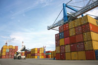 Le périscope, article économique Mulhouse - Transport fluvial