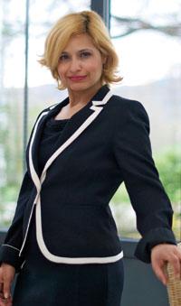 Angélique Gasmi, directrice du Pôle d'aménagement de la maison