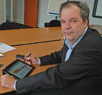 Thierry Pinot, directeur de Cap-Tic
