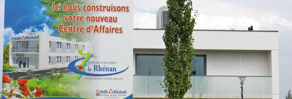 Le siège du Centre d'affaires du Crédit Mutuel - Le périscope