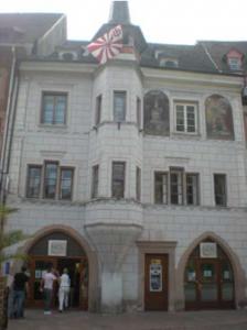 La facade de la Maison Mieg