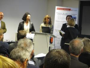 Remise du prix « Entreprise Primo Innovante » - coup de cœur du jury à Alsatextiles