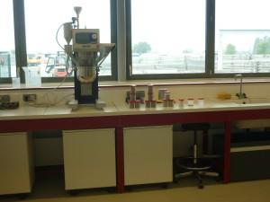 Le laboratoire matériaux