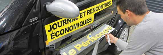 Le périscope, journal économique - Alsace - Mulhouse, Prevel