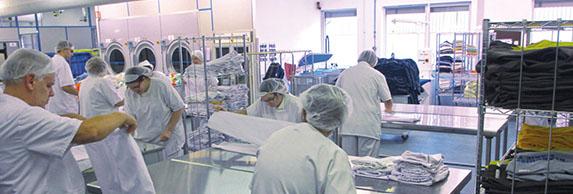 Le périscope / Sundgoscope, journal économique Altkirch - blanchisserie de l'ESAT Marie Pire