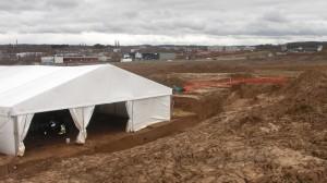 Site archéologique du projet de construction IKEA de Morschwiller-le-Bas