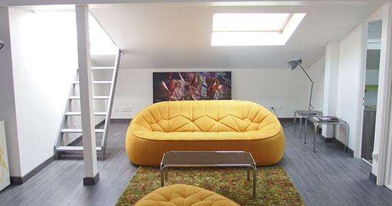 gîtes urbains à Mulhouse - Le Loft des Musiciens