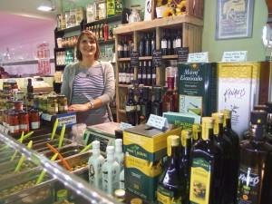 Le Comptoir de Messénie, Slow Food, alimentation grecque, produit alimentaire grecs, Mulhouse, marché