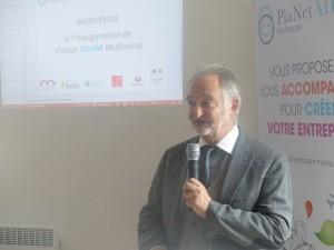 Jacques Attali, Planet Finance, Planet Adam, Mulhouse, aide création entreprise