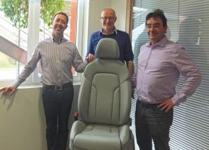 1-Protechnic  (3) les trois dirigeants, Emmanuel Roll, Pascal Strub et Jean MARc Eberhardt