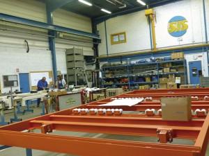 Schermesser, panneaux de bois, machines, scierie, Alsace