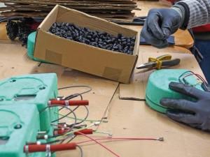 Atelier électro-montage, ESAT, Marie Pire