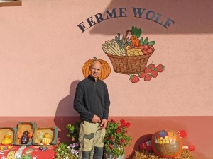 Ferme Wolf, Illfurth, marché paysan, Altkirch