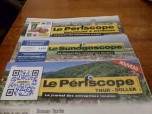 Le Périscope, Thur-Doller, Sundgau, Mulhouse, entreprise, journal