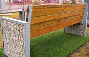 Stone Fence, gabion, Mulhouse