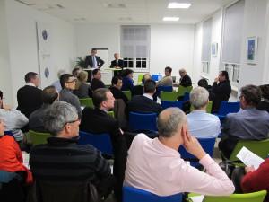 1ère Conférence-débat du Sundgoscope sur la transmission d'entreprise