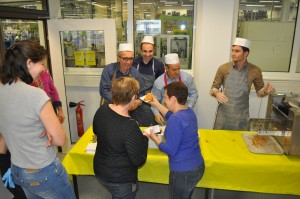 crêpe party, enterprise, Hager Group