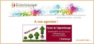 Forum de l'apprentissage, Orientoscope, Mulhouse