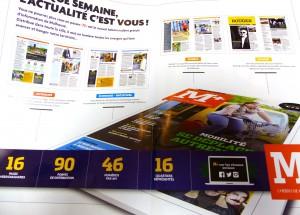 M+, magazine, Mulhouse, L'Echo Mulhousien
