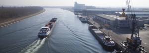 Port Mulhouse-Rhin, trafic fluvial, rheinports, RPIS