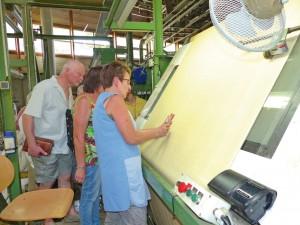Velcorex, industrie textile, velours
