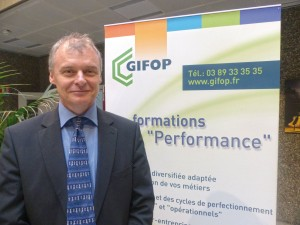 Eric Prist, directeur du Gifop CAHR Formation