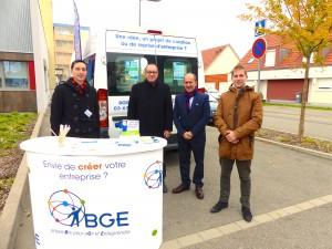 BGE Alsace, MEF Mulhouse, Cré'Affaire, créer son entreprise